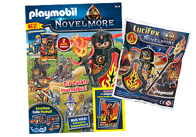 80691 PLAYMOBIL Novelmore-Magazin 4/2020
