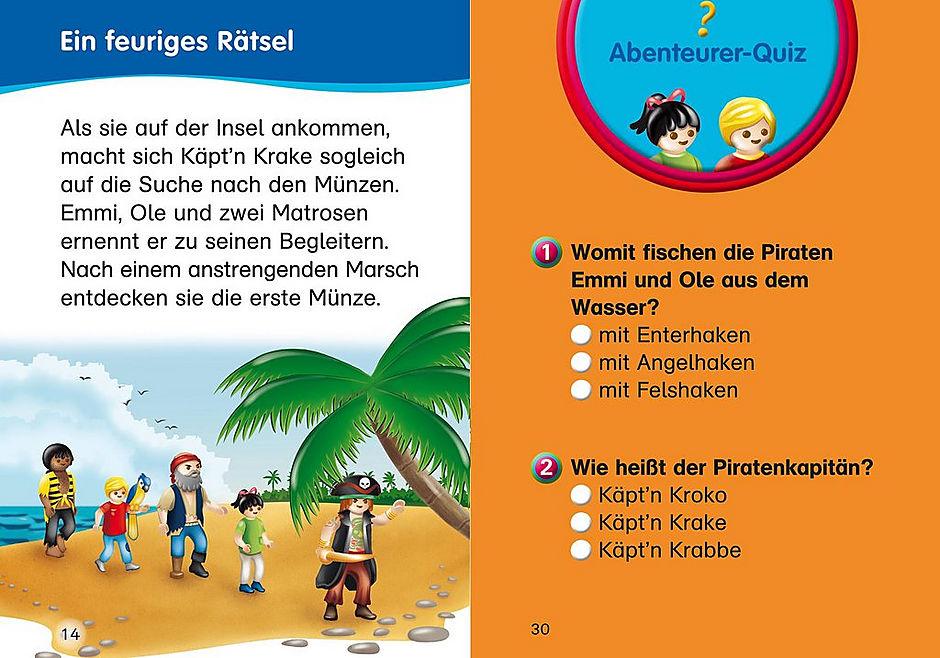 http://media.playmobil.com/i/playmobil/80700_product_extra1/Erstlesebuch: Die Jagd nach dem Schatz der Feuerinsel
