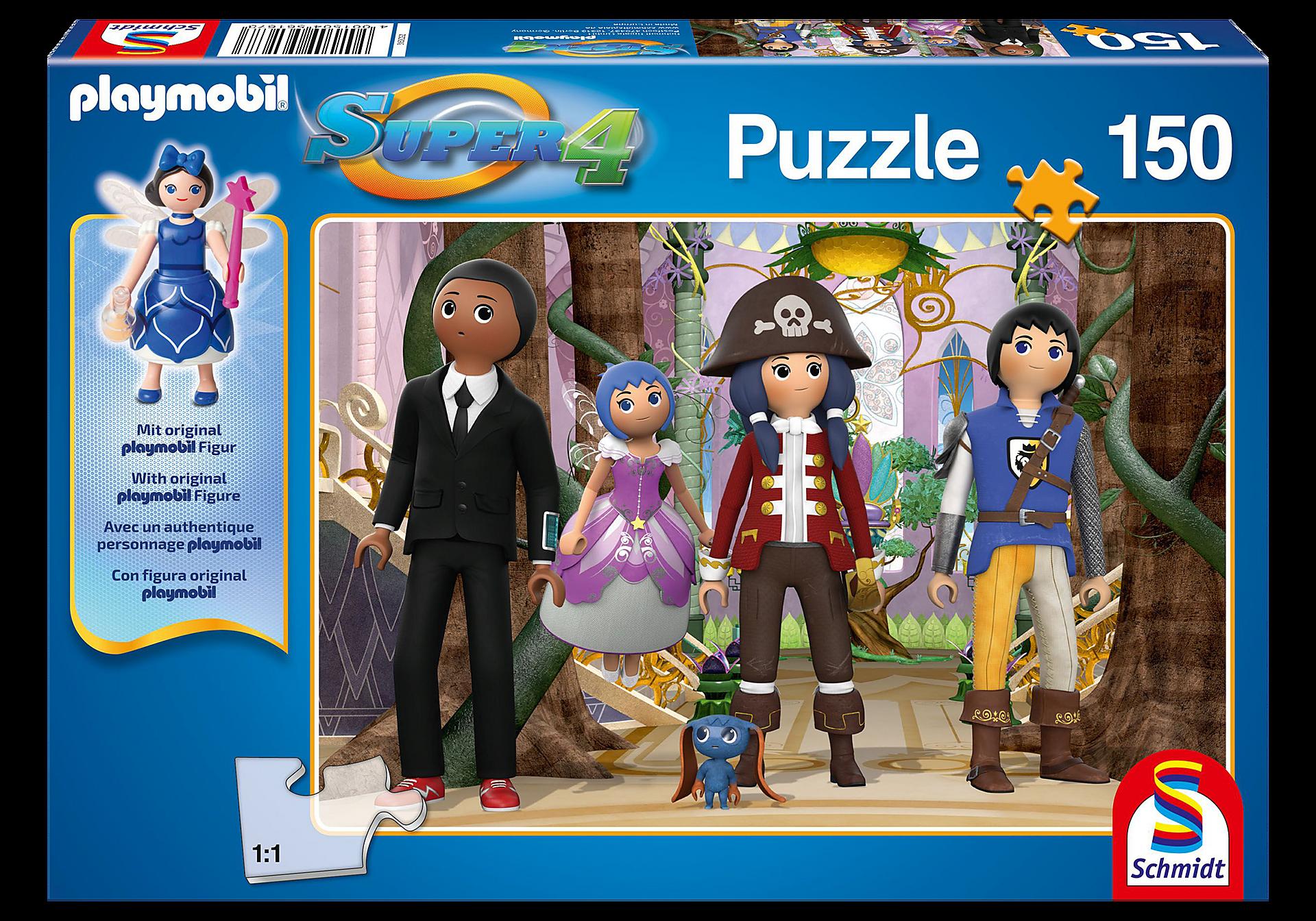 80708 Puzzle Super4 - Enchanted Island zoom image1