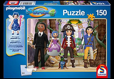 80708 Puzzle Super4 - Enchanted Island