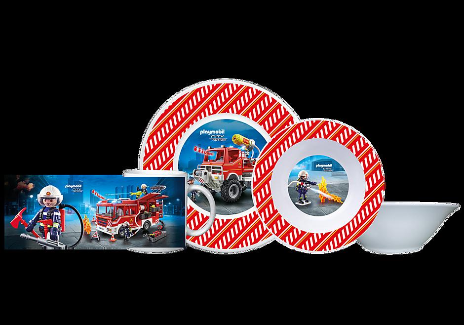 80711 Playmobil Frühstücksset Feuerwehr detail image 1