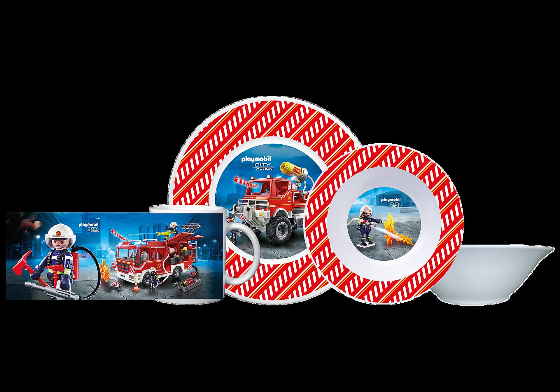 80711 Playmobil Frühstücksset Feuerwehr zoom image1