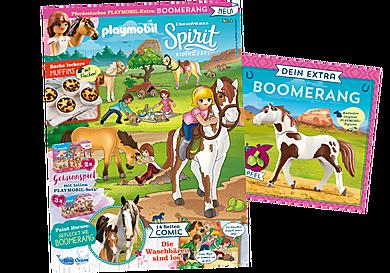 80757 PLAYMOBIL-Magazin Spirit (Spirit-Sonderheft 1/21 Boomerang)