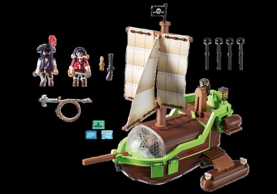 piraten cham leon mit ruby 9000 playmobil deutschland. Black Bedroom Furniture Sets. Home Design Ideas