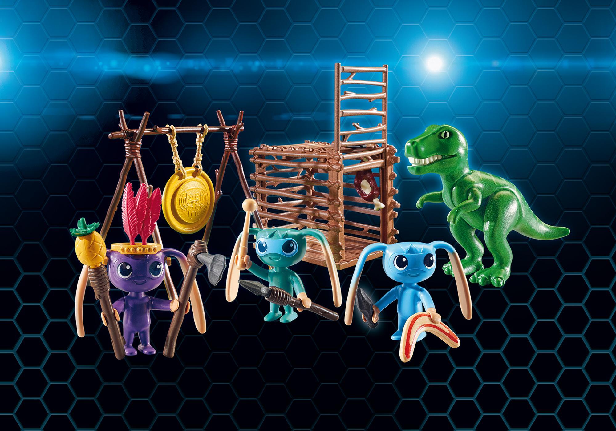 http://media.playmobil.com/i/playmobil/9006_product_detail/Alien-Krieger mit T-Rex-Falle