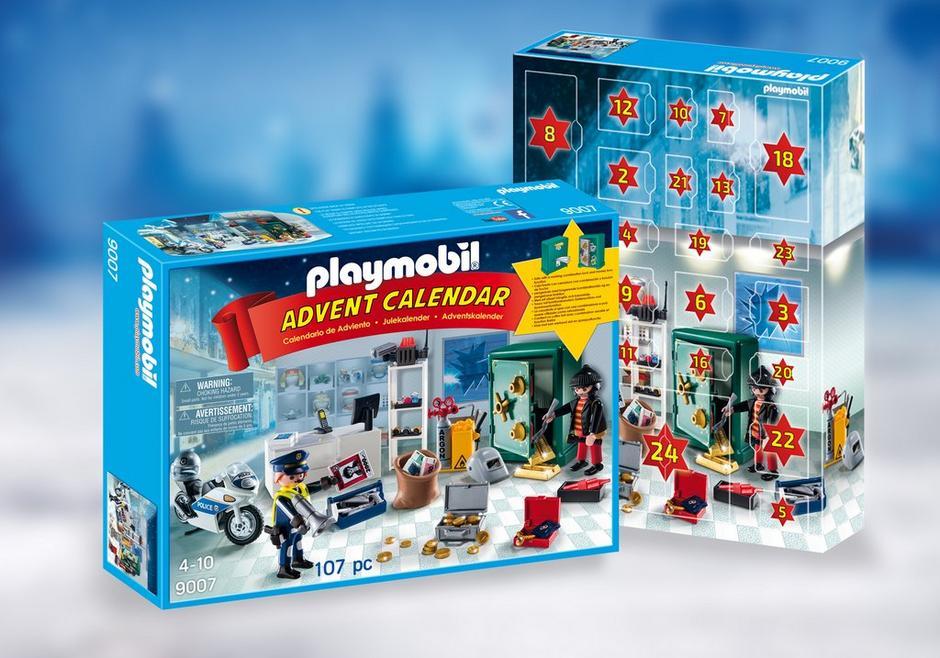 Advent Calendar Jewel Thief Police Operation 9007 Playmobil Usa