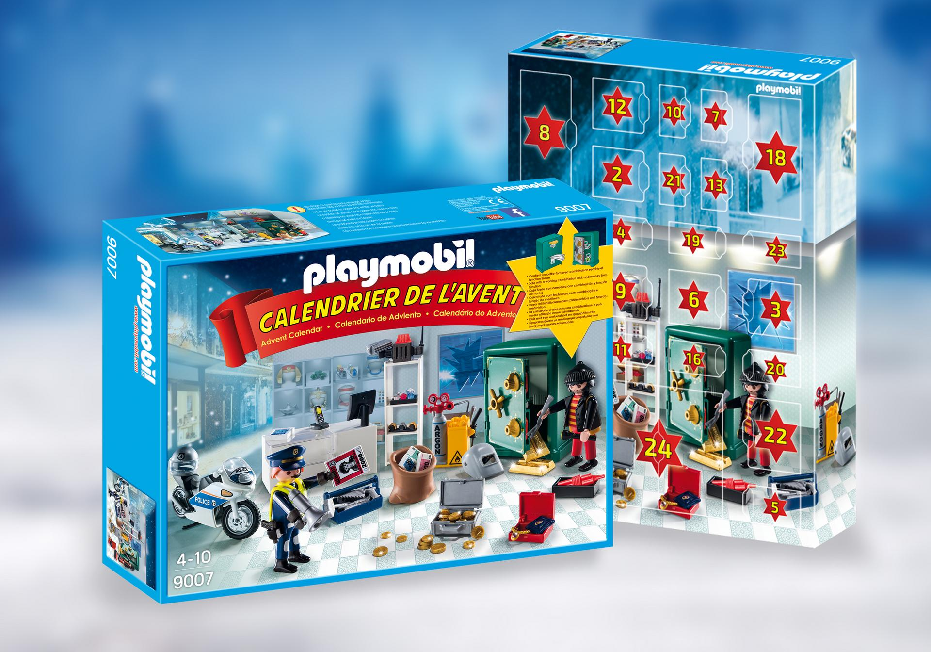 calendrier de l 39 avent policier et cambrioleur 9007 playmobil france. Black Bedroom Furniture Sets. Home Design Ideas