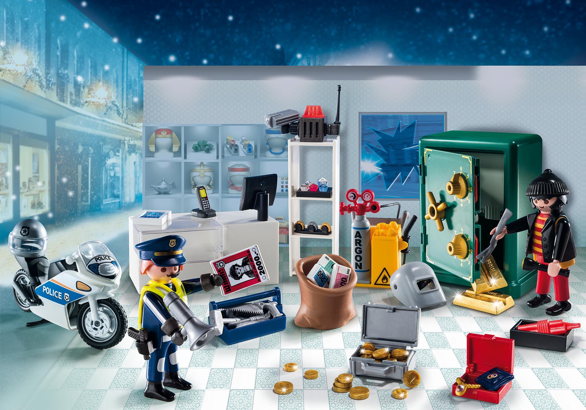 adventskalender op heterdaad betrapt 39 39 9007 playmobil nederland. Black Bedroom Furniture Sets. Home Design Ideas