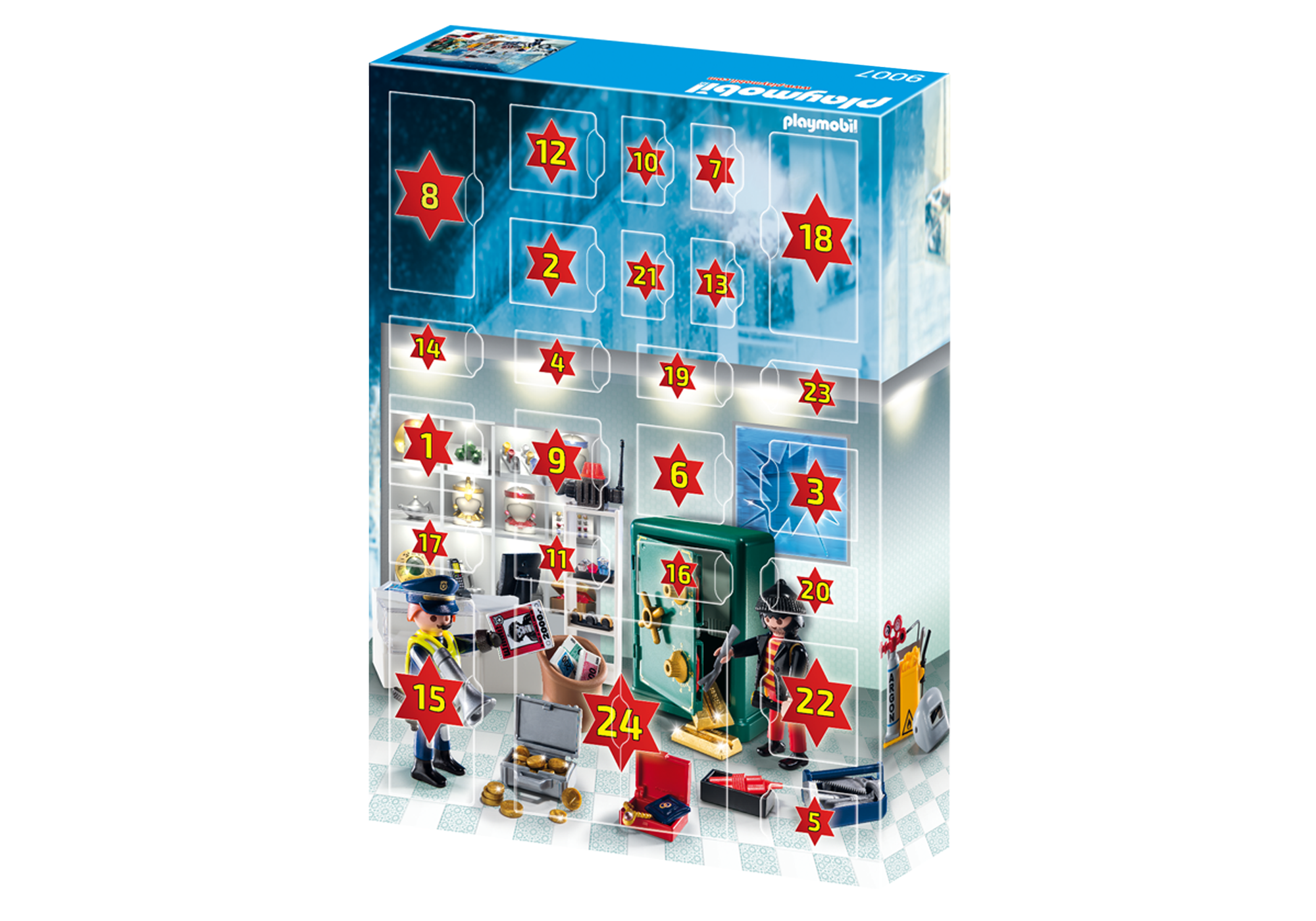 http://media.playmobil.com/i/playmobil/9007_product_extra2/Calendario de Navidad - Robo en la Joyería