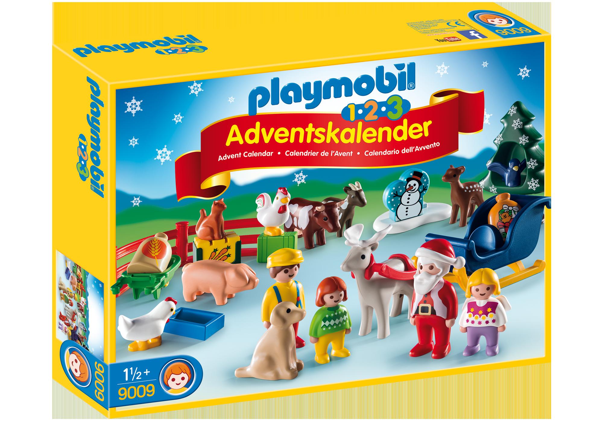 http://media.playmobil.com/i/playmobil/9009_product_box_front/1.2.3 Calendario de Navidad - Granja de Animales