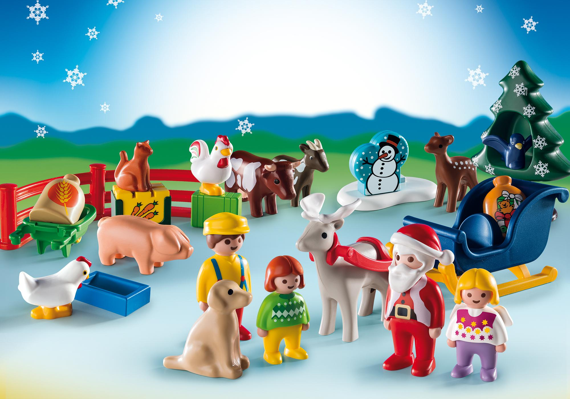 http://media.playmobil.com/i/playmobil/9009_product_extra1/1.2.3 Calendario de Navidad - Granja de Animales