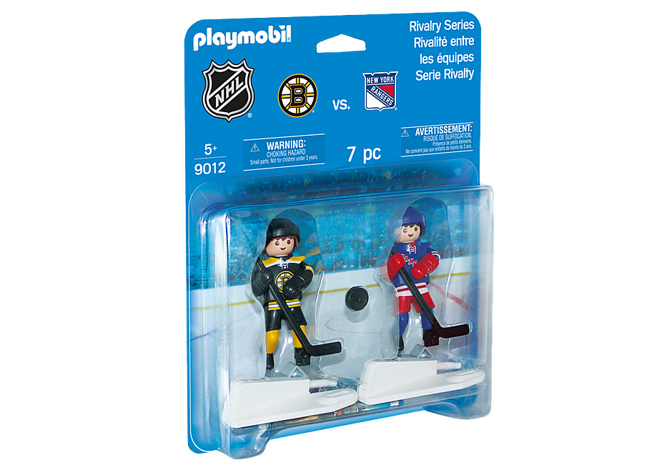 9012 NHL® Blister Boston Bruins® vs New York Rangers® detail image 2