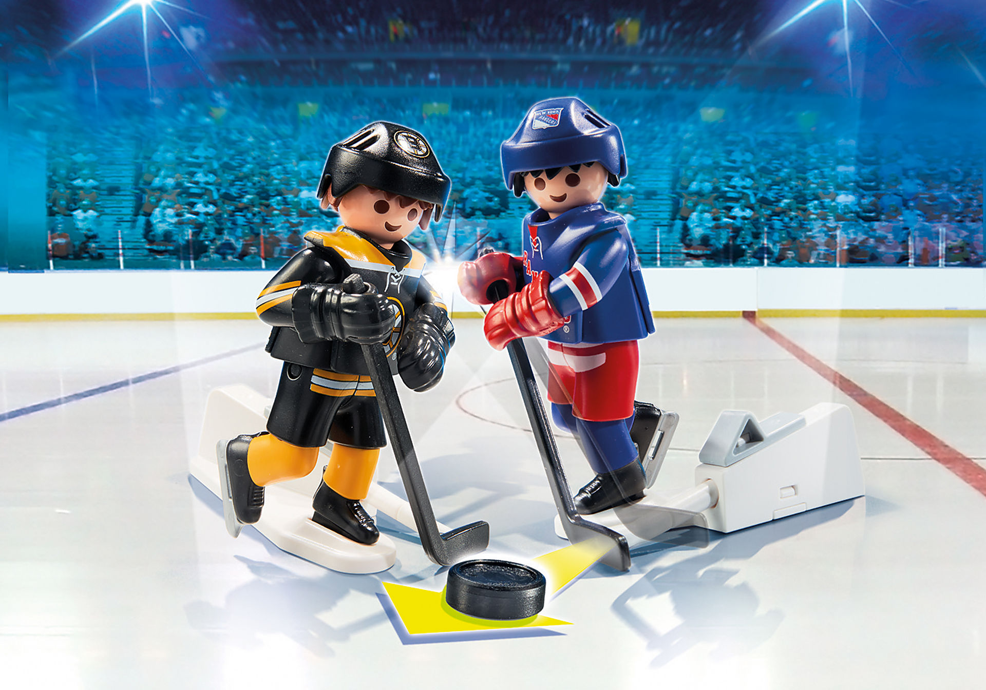 9012 NHL™ Blister Boston Bruins™ vs New York Rangers™ zoom image1