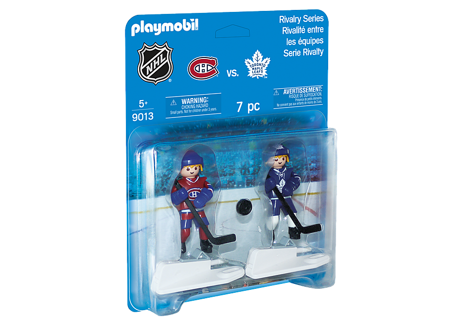 9013 NHL™ Montreal Canadiens™ vs Blister Toronto Maple Leafs™ detail image 2