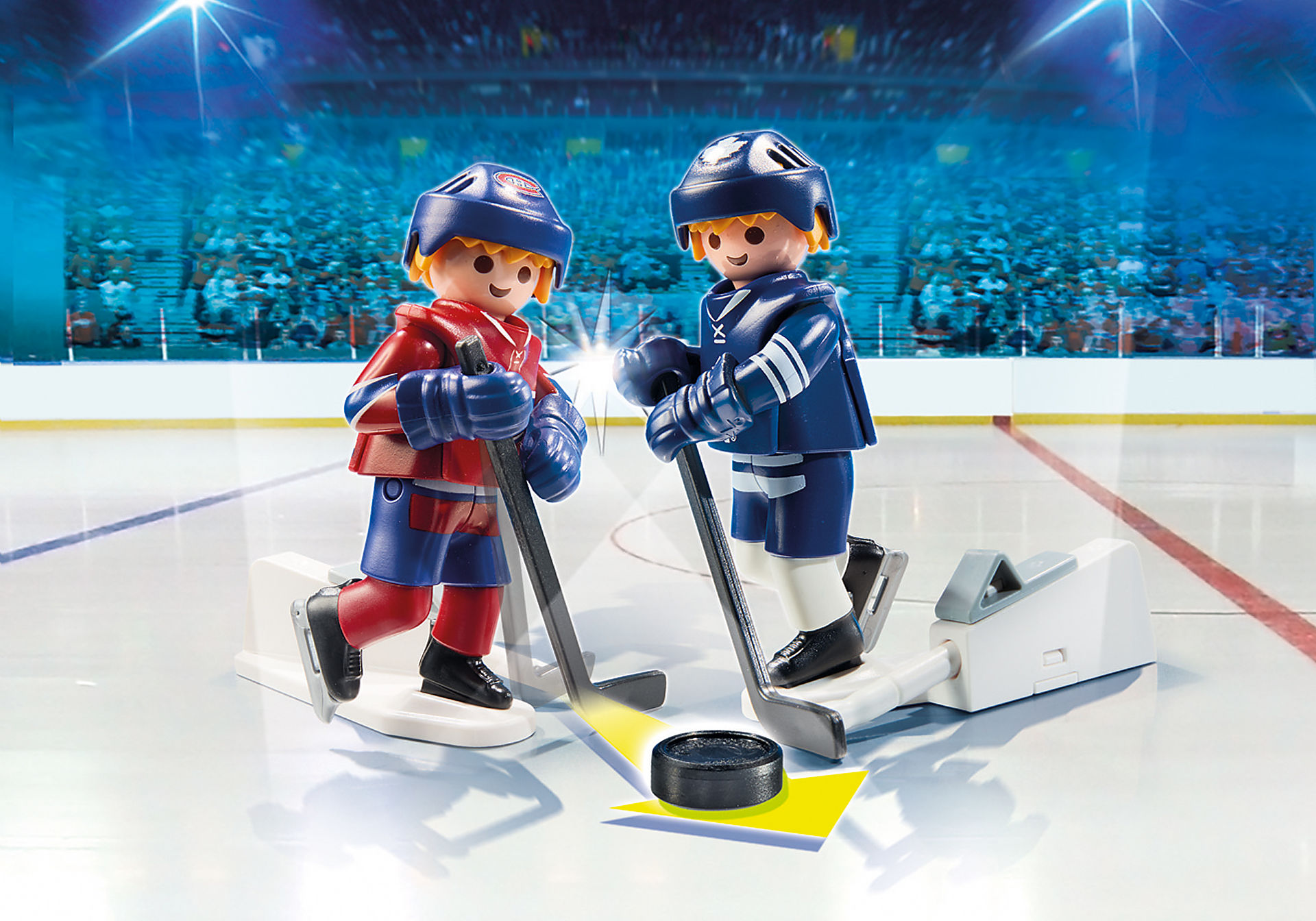9013 NHL™ Montreal Canadiens™ vs Blister Toronto Maple Leafs™ zoom image1