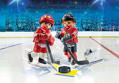 9014 NHL® Blister Detroit Red Wings® vs Chicago Blackhawks®