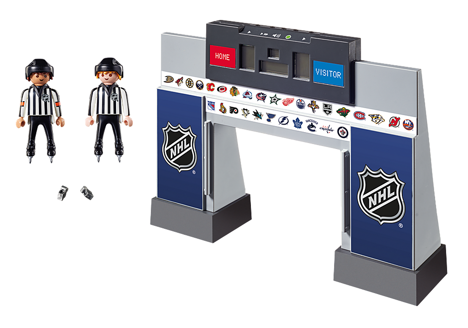9016 NHL® Score Clock  with 2 Referees detail image 4
