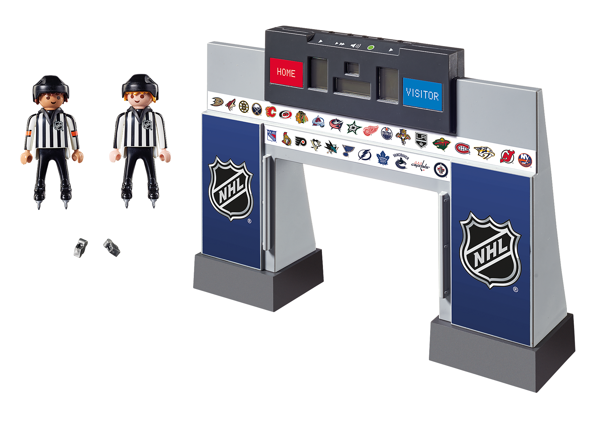 9016 NHL™ Score Clock  with 2 Referees zoom image3