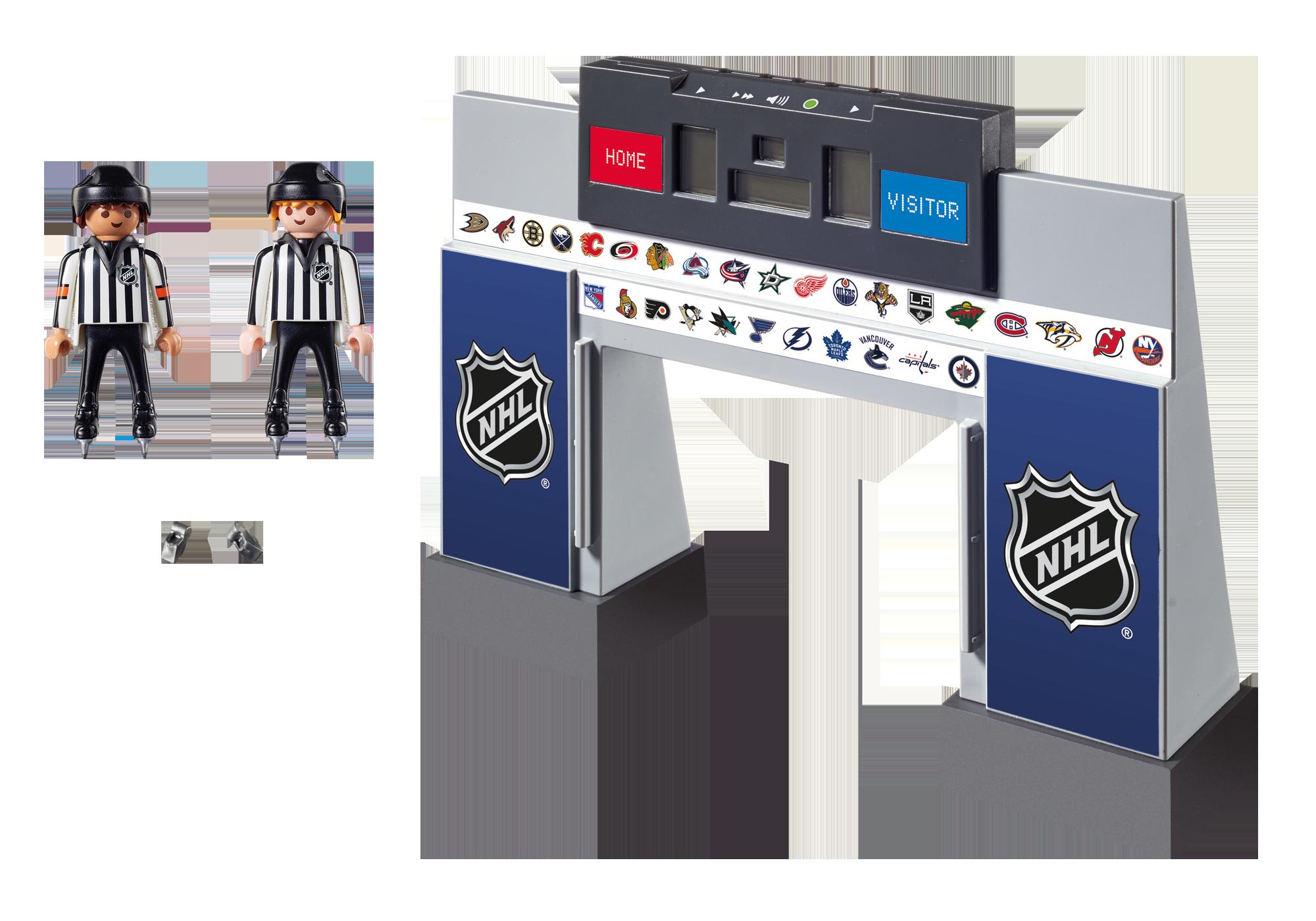 http://media.playmobil.com/i/playmobil/9016_product_box_back/NHL™ Score Clock  with 2 Referees