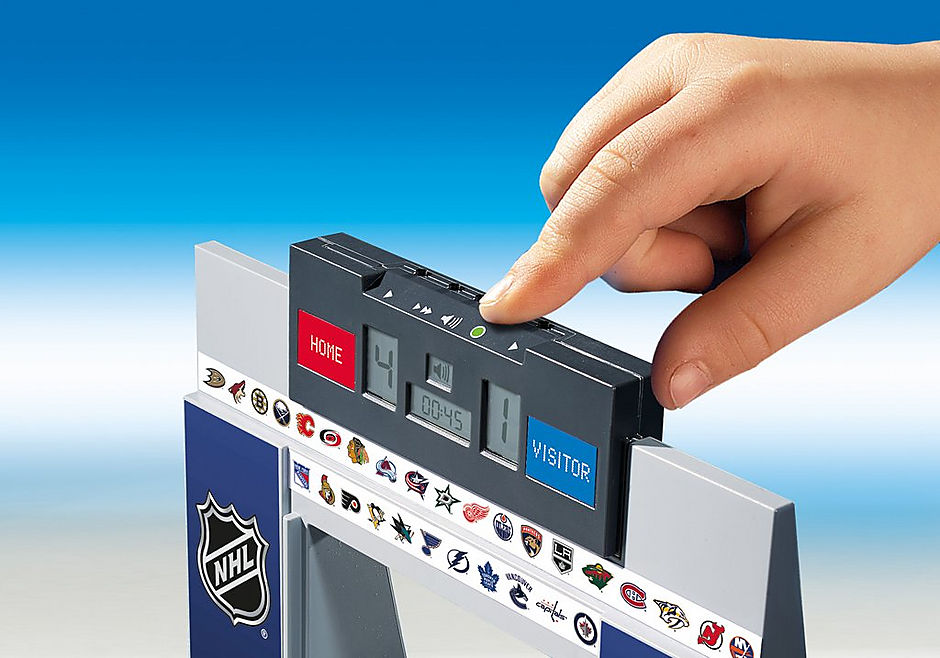 9016 NHL® Score Clock  with 2 Referees detail image 5