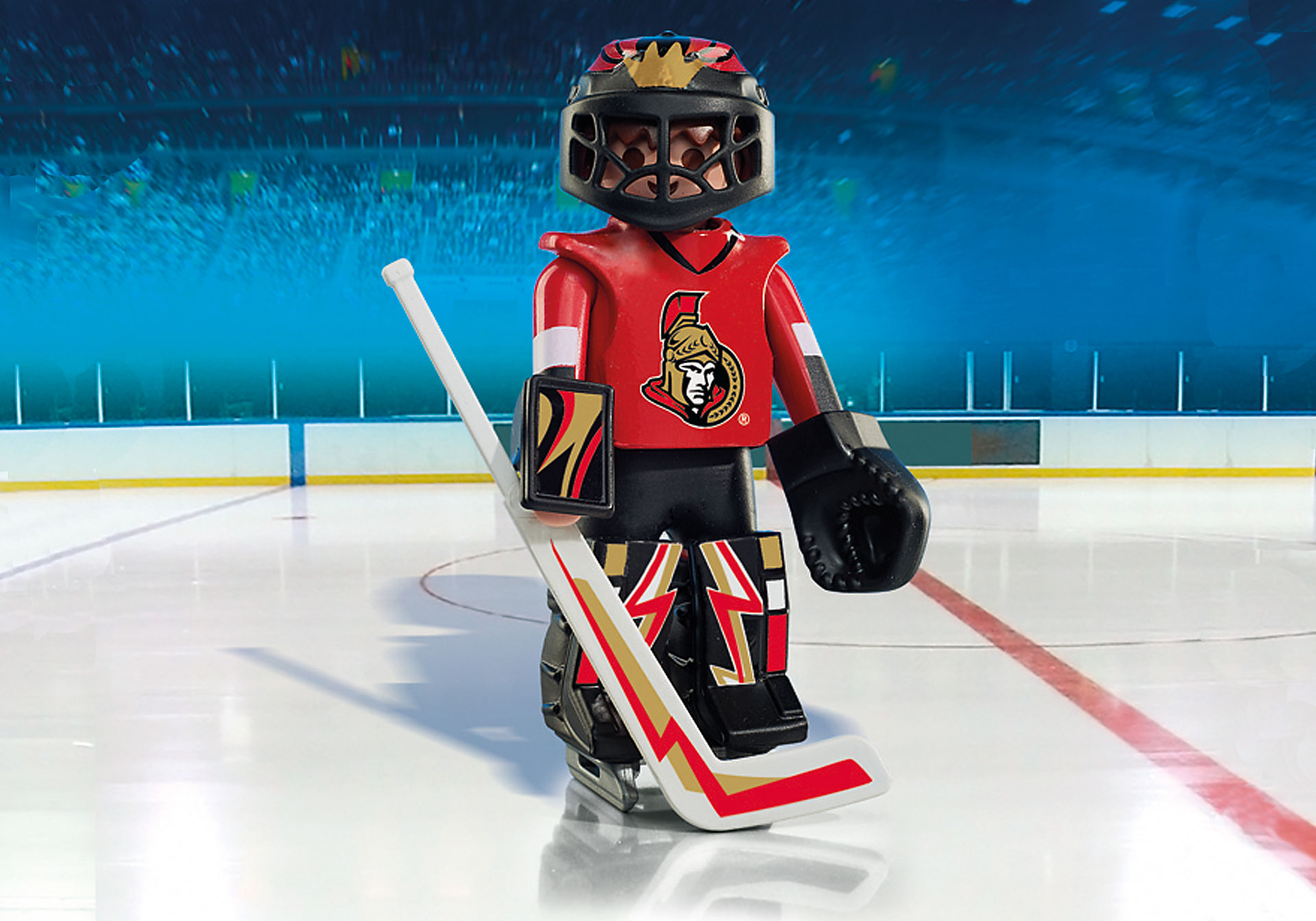 9018 NHL® Ottawa Senators® Goalie zoom image1