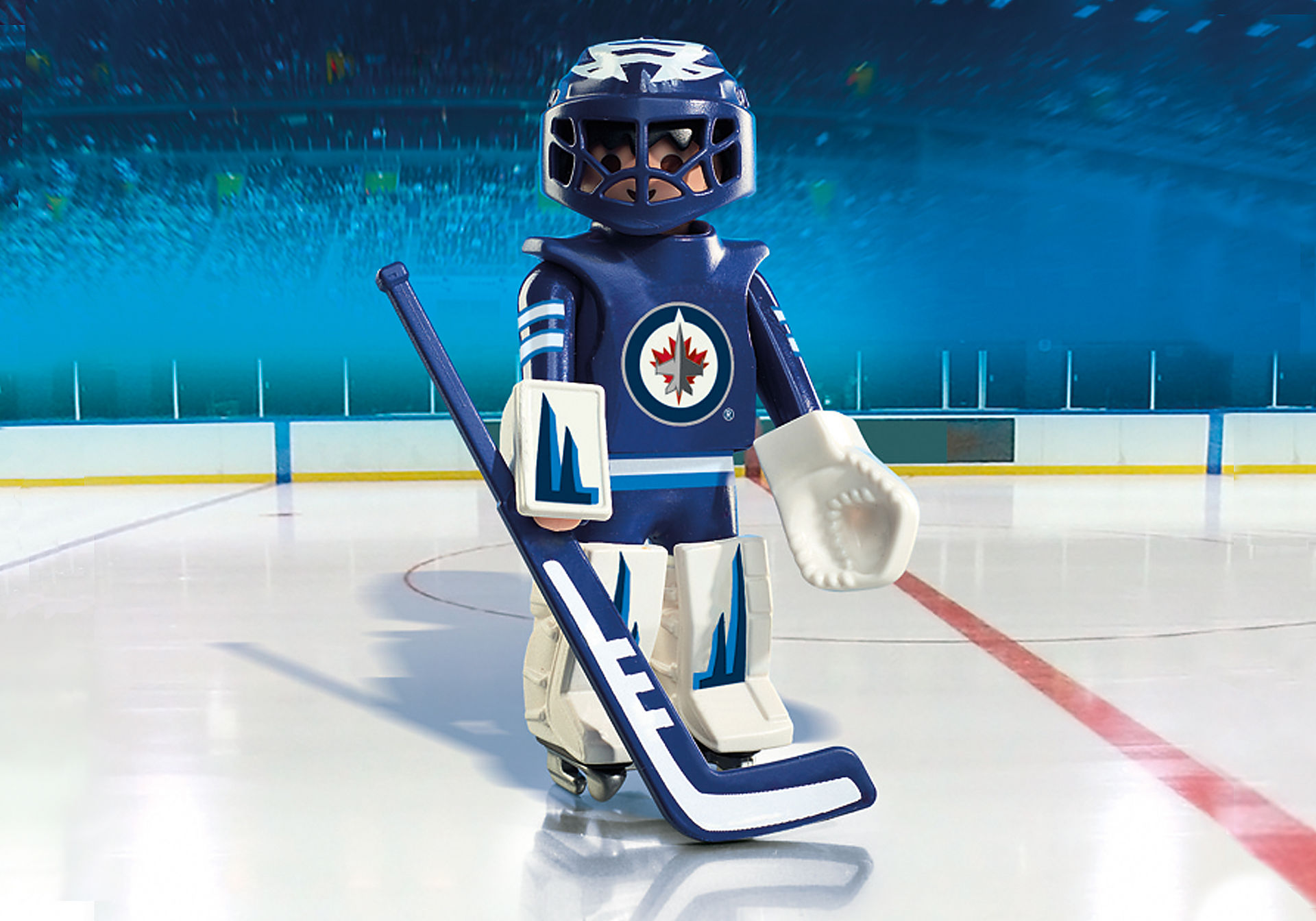 9020 NHL™ Winnipeg Jets™ Goalie zoom image1