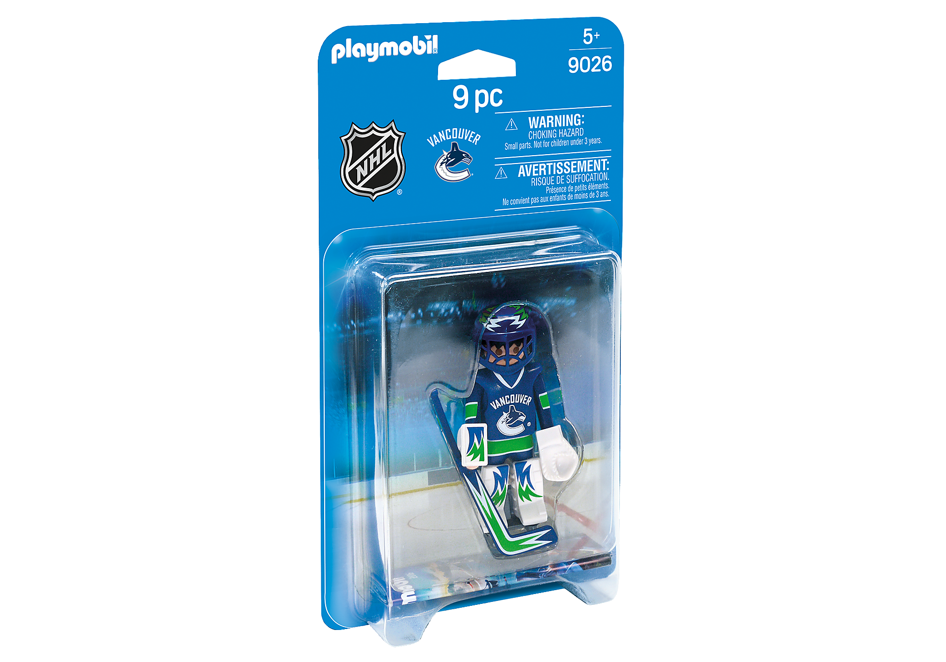 9026 NHL® Vancouver Canucks® Goalie zoom image2