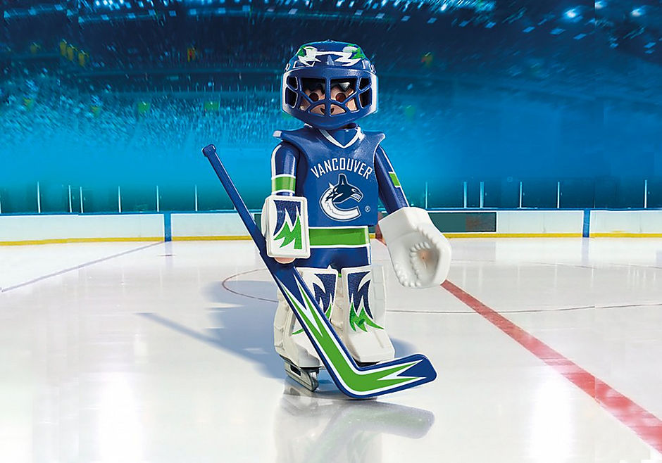 9026 NHL® Vancouver Canucks® Goalie detail image 1