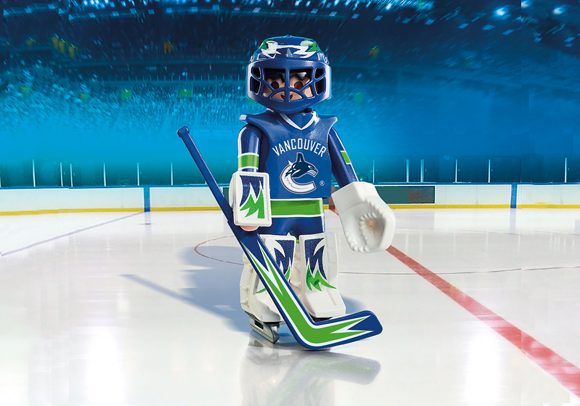 9026 NHL® Vancouver Canucks® Goalie zoom image1