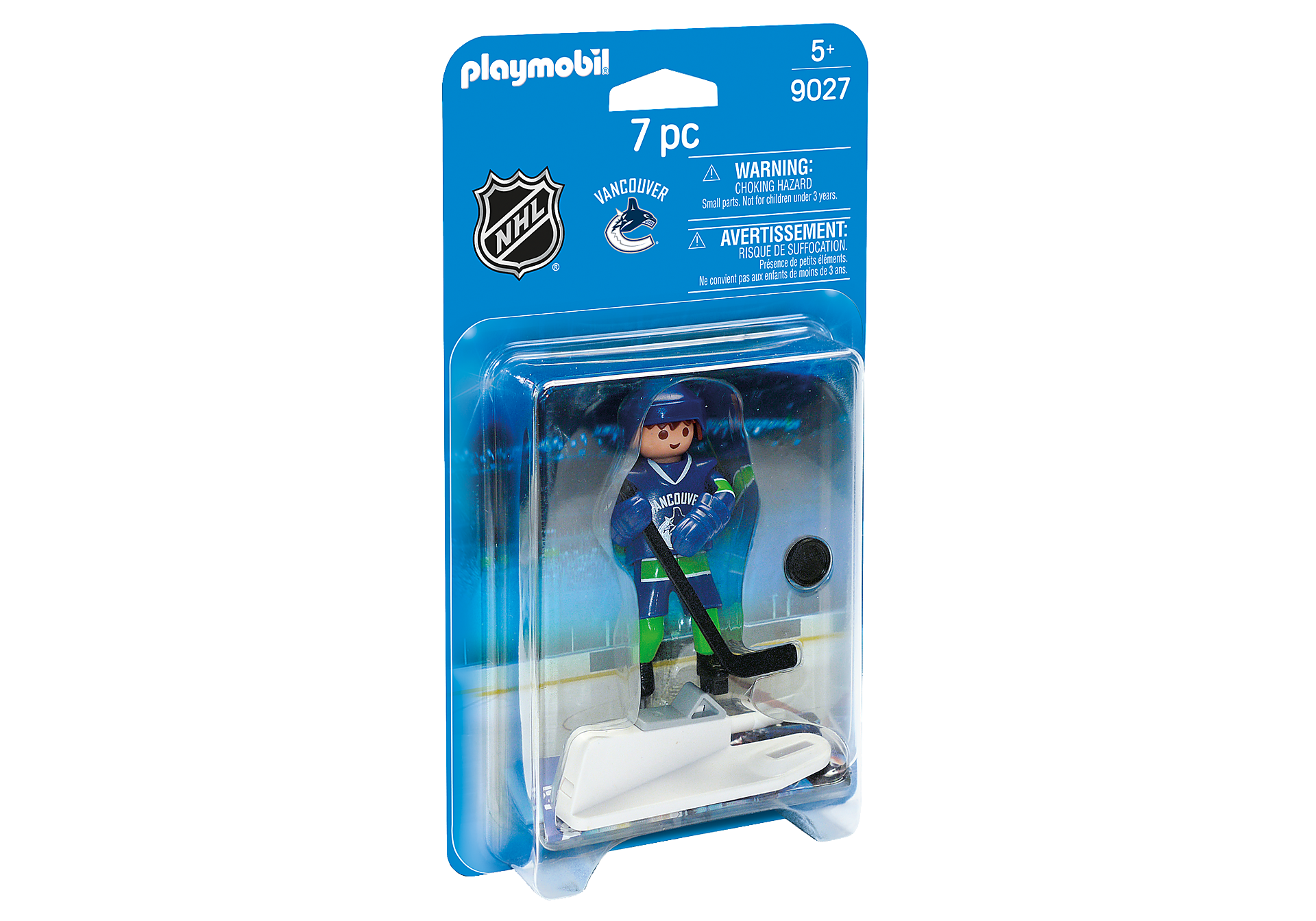 9027 NHL Jugador Vancouver Canucks zoom image2