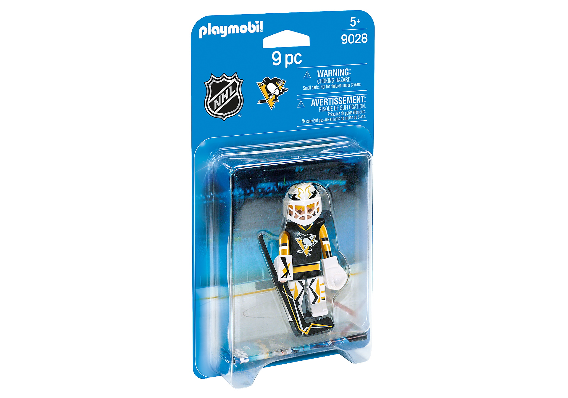9028 NHL® Pittsburgh Penguins® Goalie zoom image2