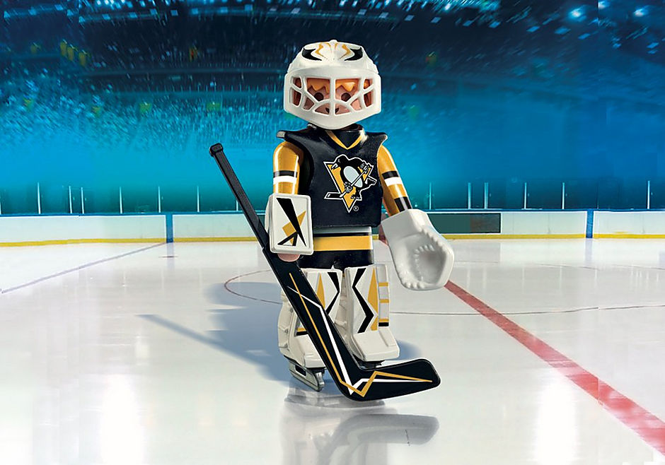 9028 NHL® Pittsburgh Penguins® Goalie detail image 1