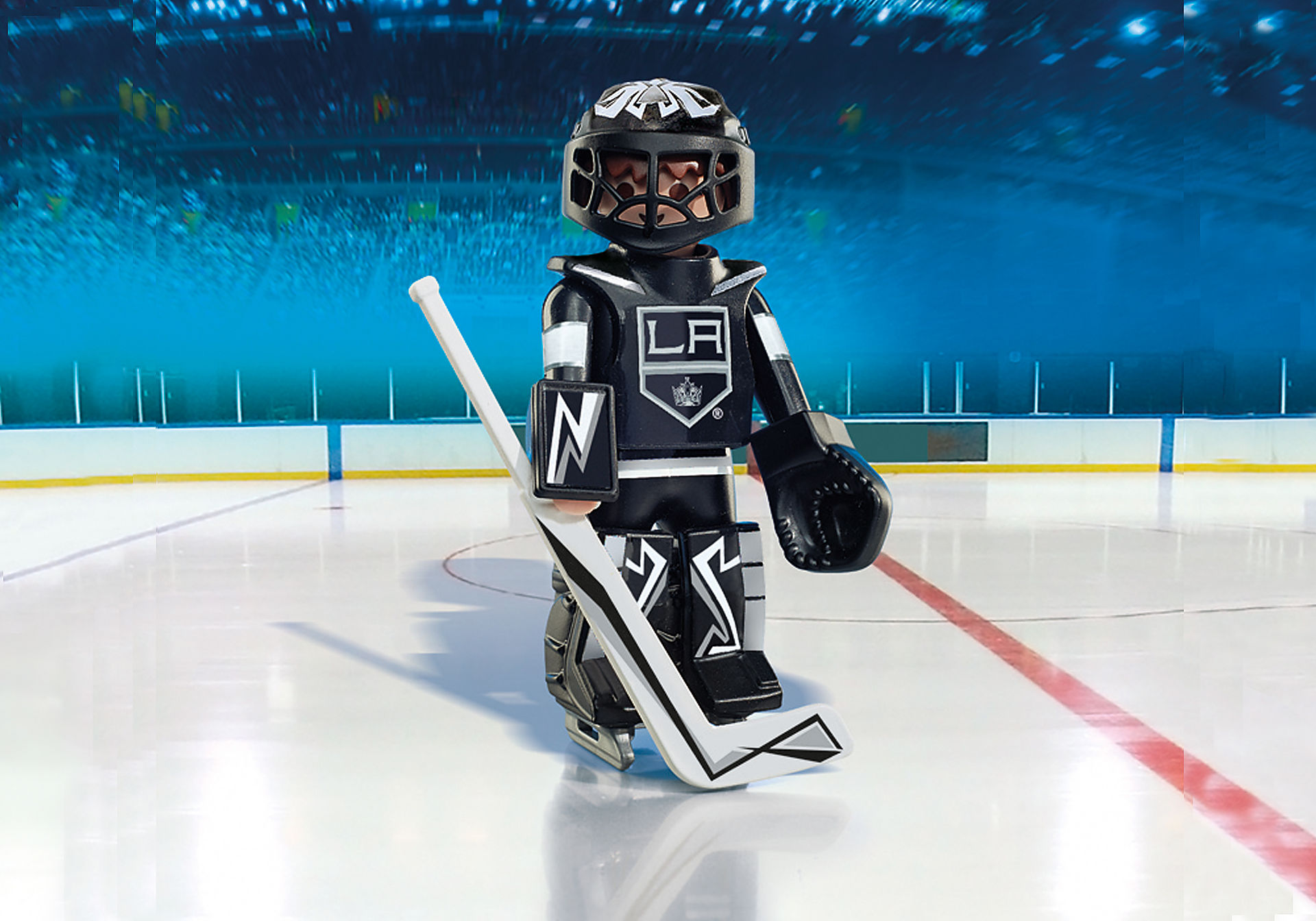 9030 NHL® Los Angeles Kings® Goalie zoom image1