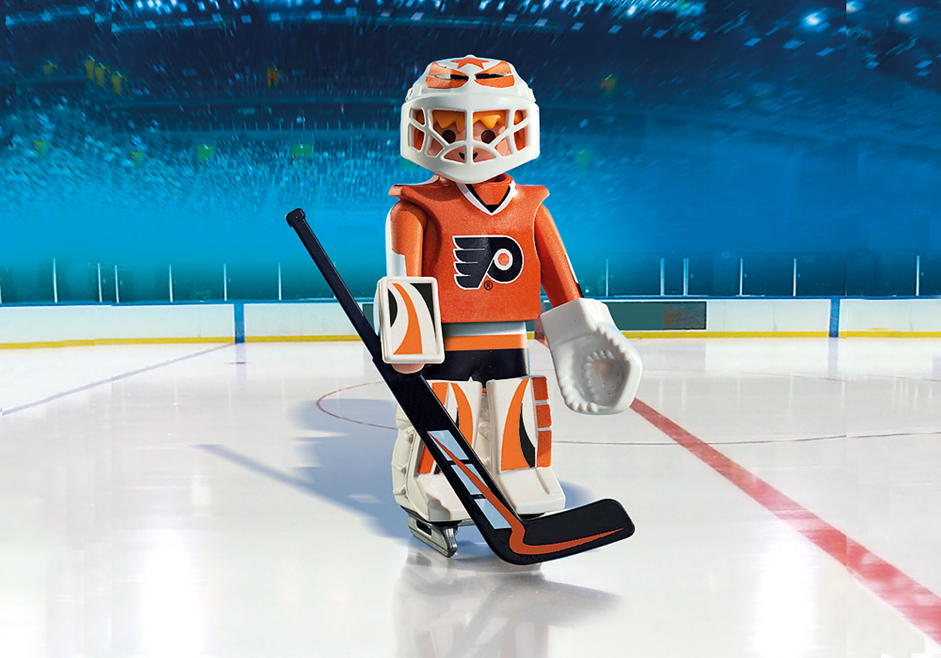 9032 NHL™ Philadelphia Flyers™ Goalie zoom image1