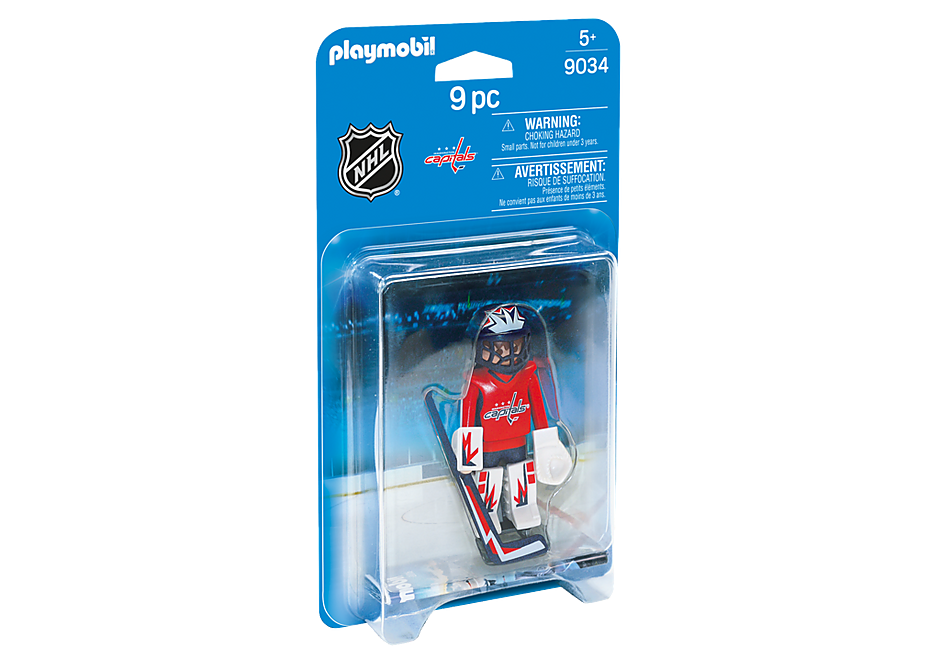 9034 NHL® Washington Capitals® Goalie detail image 2