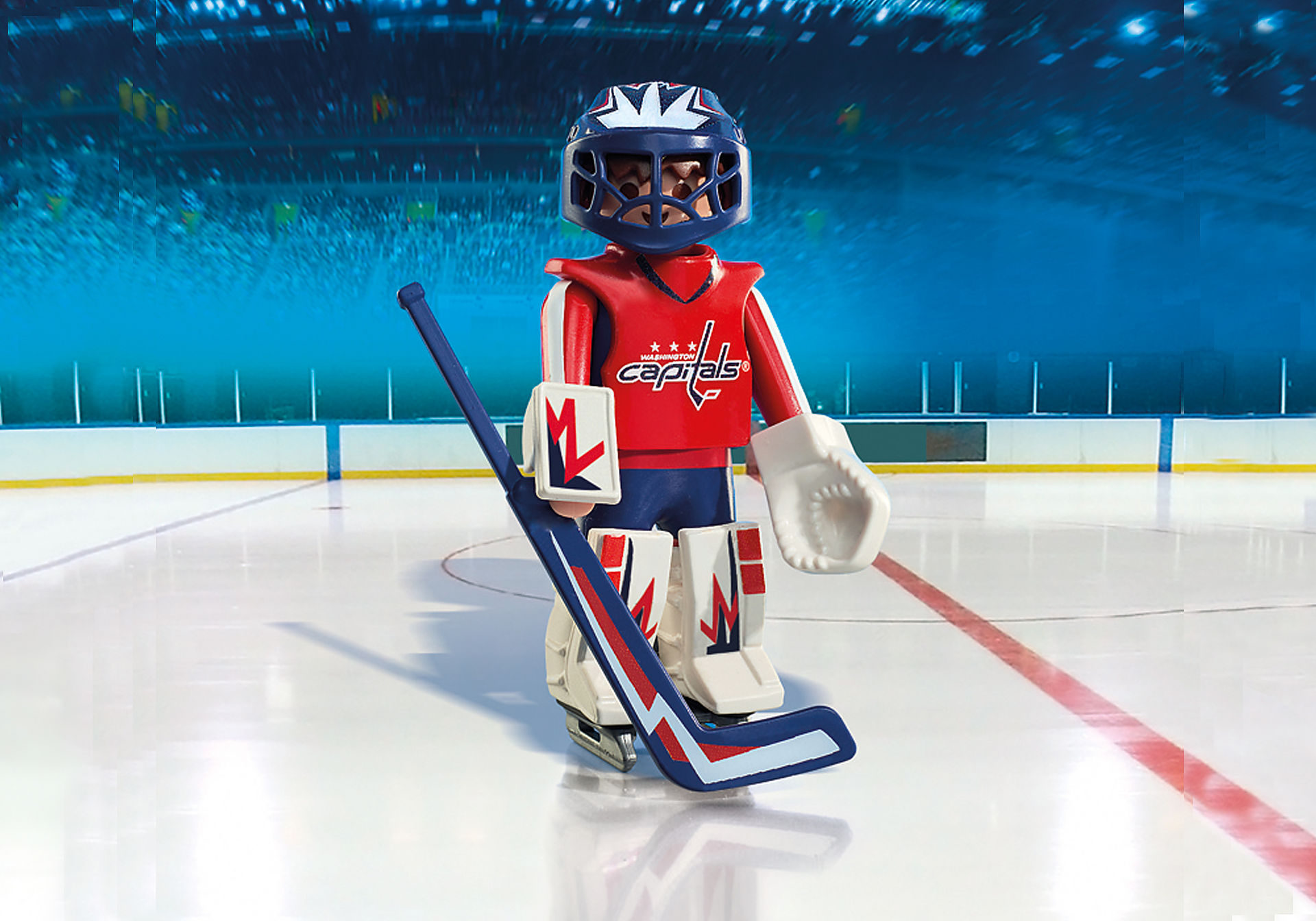 9034 NHL™ Washington Capitals™ Goalie zoom image1