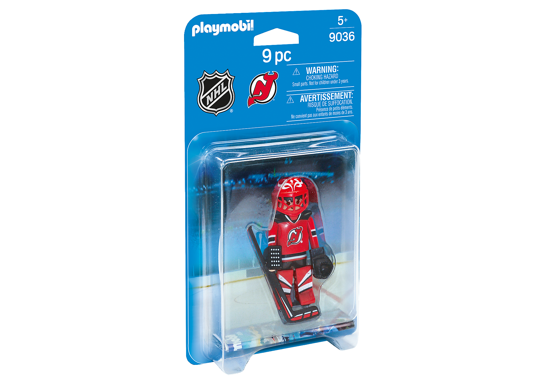 9036 NHL® New Jersey Devils® Goalie zoom image2