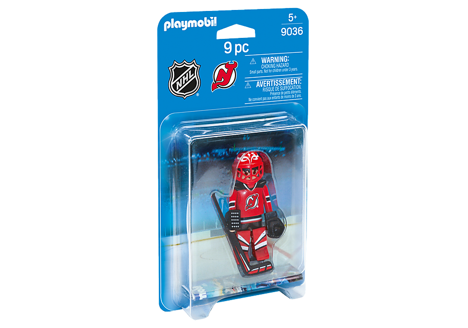 9036 NHL® New Jersey Devils® Goalie detail image 2
