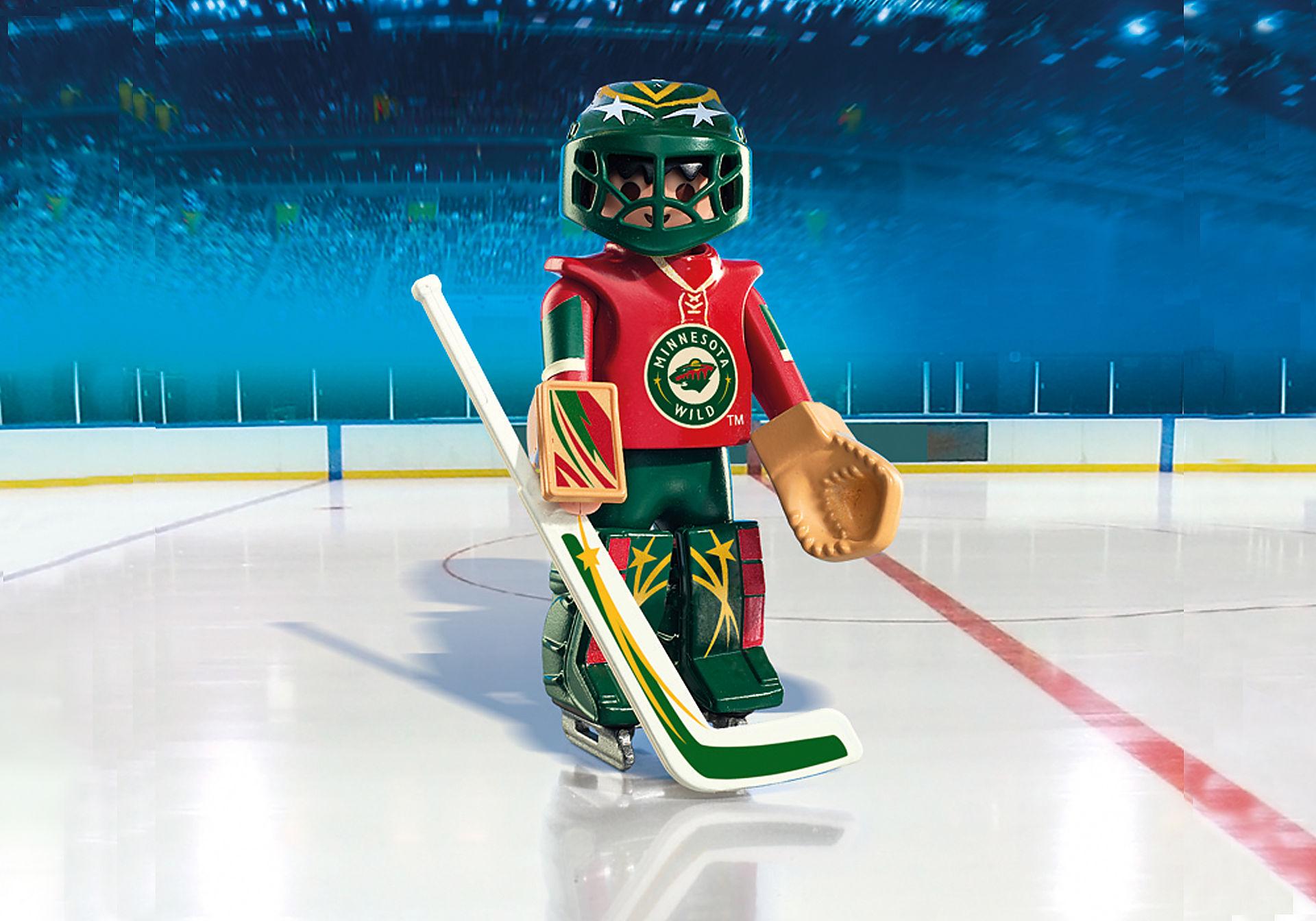 9038 NHL™ Minnesota Wild™ Goalie zoom image1