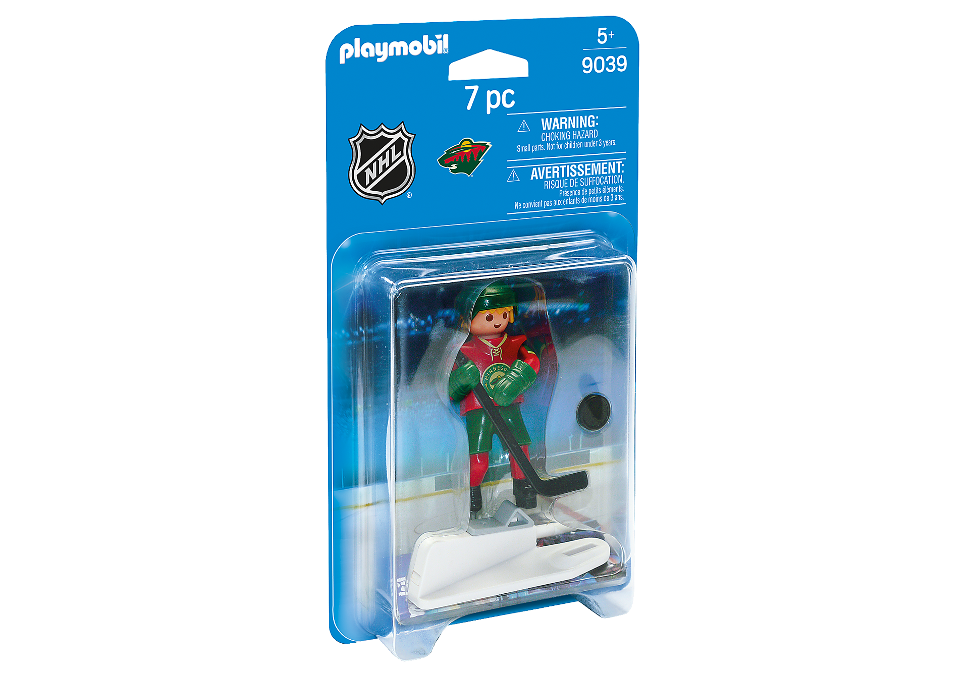 9039 NHL® Minnesota Wild® Player zoom image2