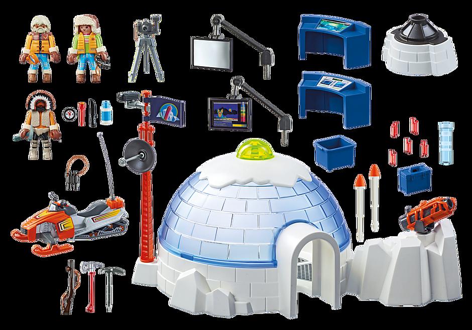http://media.playmobil.com/i/playmobil/9055_product_box_back/Cuartel Polar de Exploradores