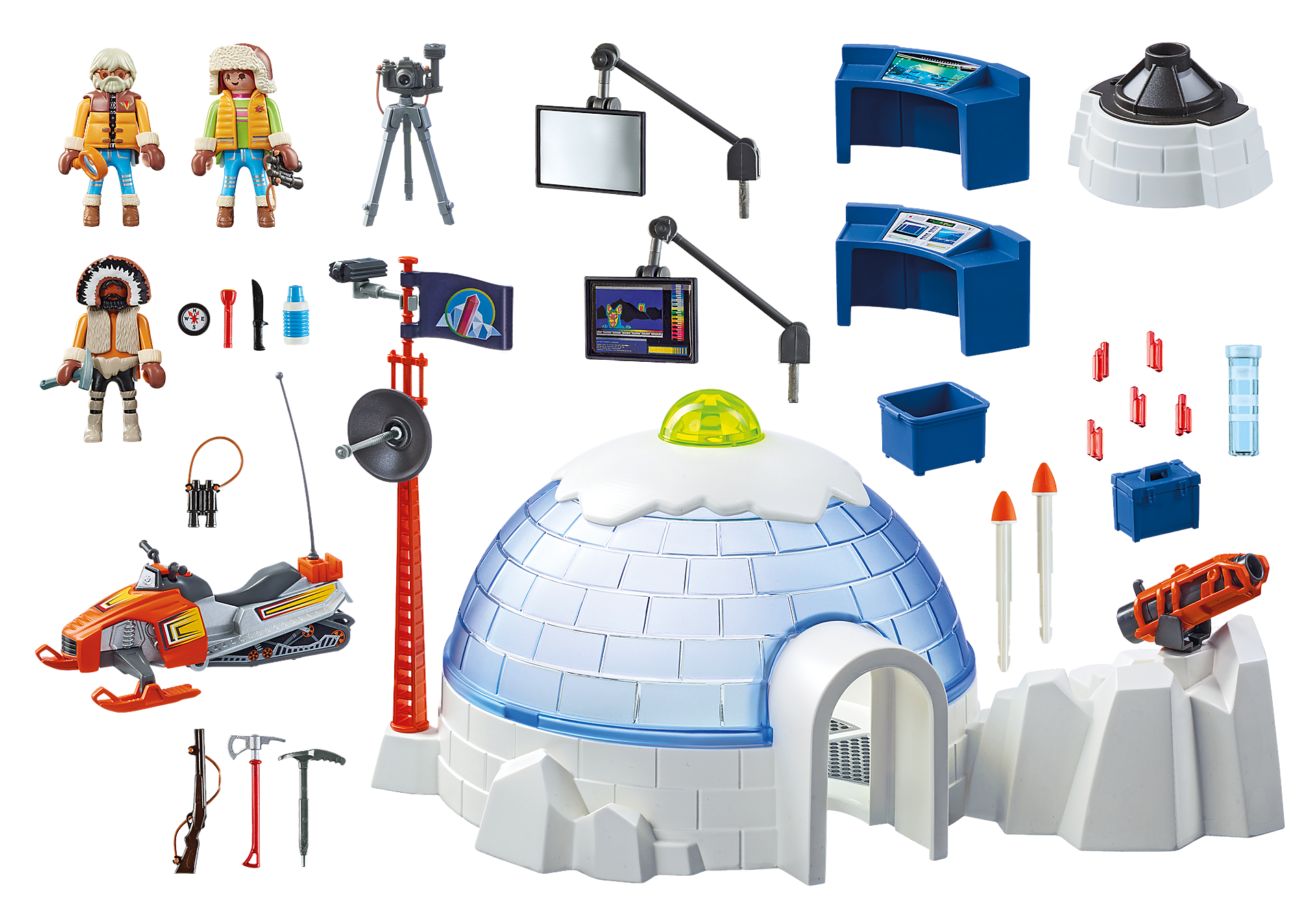 http://media.playmobil.com/i/playmobil/9055_product_box_back/Hoofdkwartier Poolexpeditie