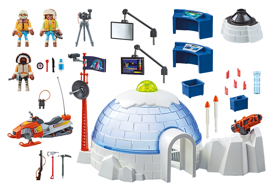 http://media.playmobil.com/i/playmobil/9055_product_box_back/Polar Ranger Hauptquartier