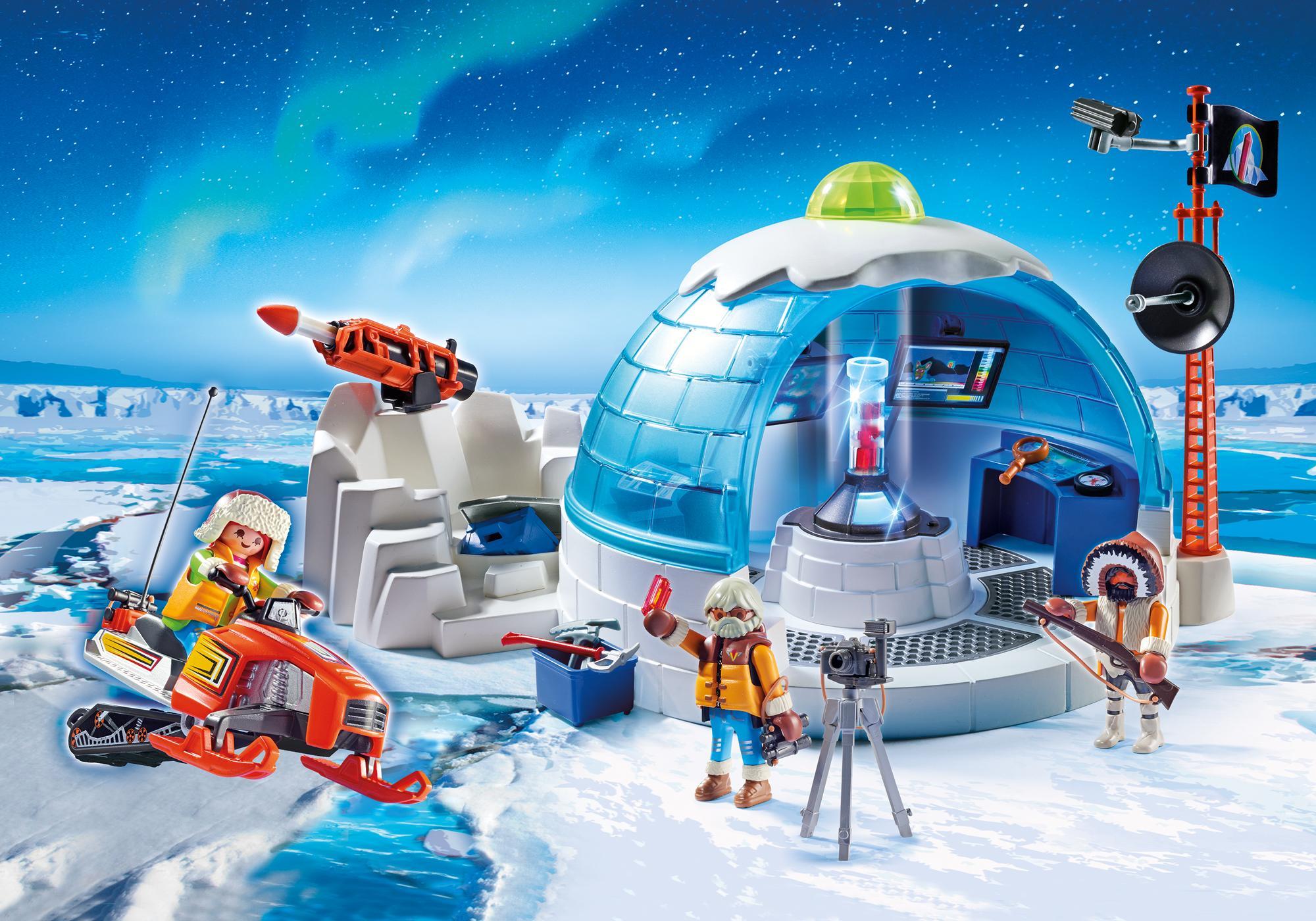 http://media.playmobil.com/i/playmobil/9055_product_detail/Arctic Expedition Headquarters