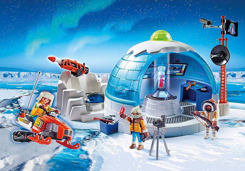 http://media.playmobil.com/i/playmobil/9055_product_detail/Polar Ranger Hauptquartier