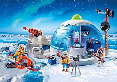 9055 Polar Ranger Hauptquartier