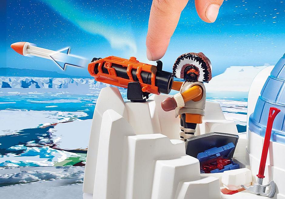 http://media.playmobil.com/i/playmobil/9055_product_extra2/Polar Ranger Hauptquartier