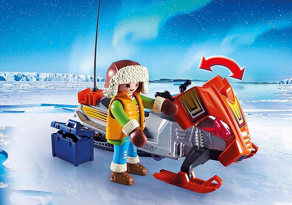 9055 Polar Ranger Hauptquartier detail image 9