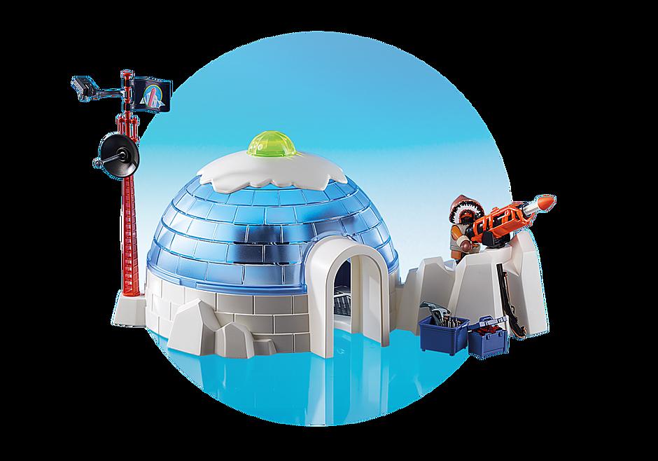 http://media.playmobil.com/i/playmobil/9055_product_extra5/Polar Ranger Hauptquartier