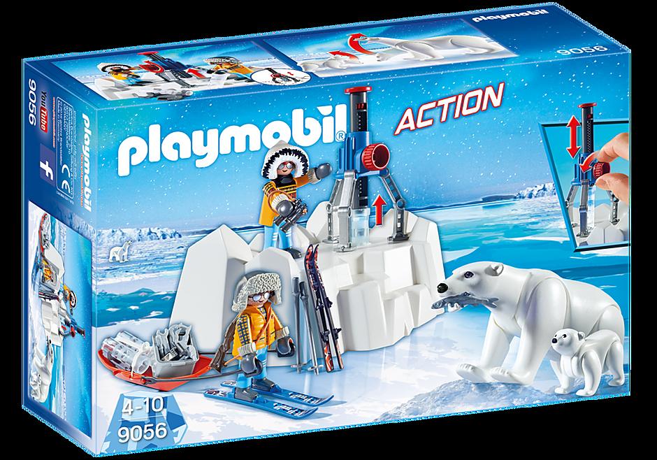 9056 Polarforskare med isbjörnar detail image 3